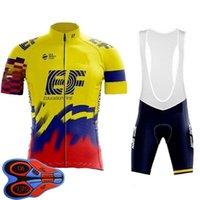 2021 Cycling Jersey Set Mens Bicycle Shirts Bib Shorts Kits Breathable Bike Outfits