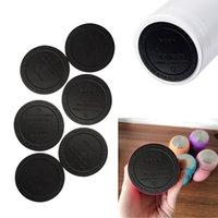 55mm adesivo coasters drinkware para 15oz 20oz de borracha de borracha copo tapete tapete caneca almofada impermeável almofadas de proteção de proteção