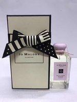 Premierlash Jo London Malone Perfume 100ml Eau de Cologne Wild Bluebell Lime Basil Mandarin English الكمثرى الرائحة رائحة العطر
