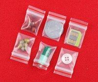 2021 Дешевле Маленькая Пластиковая Сумка на молнии Сумка Ziplock Сумка Упаковка Ziplock Упаковочные Пакеты Больше Размер Мини-молнии Сумки Пластиковые Упаковочные пакеты