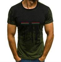 Moda Mens T Shirt Polos Nuovo Arrivo Uomo Vestiti di alta qualità Lettera di alta qualità Stampa casual manica corta Famosa mens Stilista Tees 8 colori S-6XL