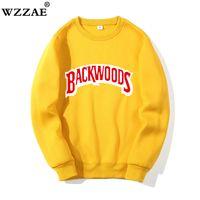 2021New O-Boyun Hoodies Streetwear Backwoods Kazak Erkekler Moda Sonbahar Kış Hip Hop Hoodie Kazak Tişörtü