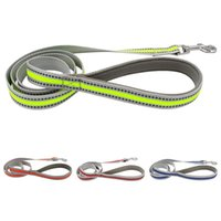 Dog Collars & Leashes Multi-Function Pet Night Walking Safety Leash Adjustable Small Medium Dogs Reflective Leading Traction Rope
