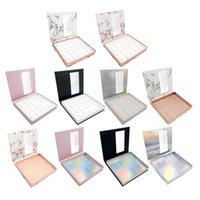 False Eyelashes Portable Lash Book Storage 10 Pairs Lahses Holder Container Organizer Paper Makeup Display Box Travel