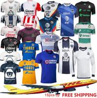 2021 Club América Futebol Jerseys 2020 2021 Home Away Terceiro Treinamento Tigres Chivas de Guadalajara Kit Camisas de Futebol Camisa de Futebol