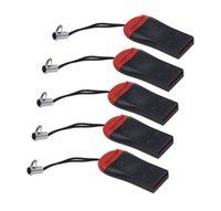 T-Flash USB 2.0 T-Flash 메모리 카드 리더 TF 카드 마이크로 SD 카드 리더 어댑터 8GB 16GB 32GB 64GB