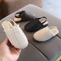 Kinder Sandalen Schuhe Kleinkind Kinder Baby Sommer Prinzessin Schuhe Sandalen Mode Mädchen Strandschuhe J0301