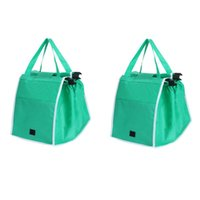 Storage Bags Eco-Friendly Foldable Reusable Shop Handbag Supermarket Thicken Trolley Shopping Cart Totes Portable Grocery Store