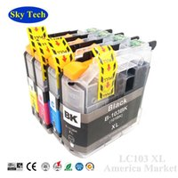 Cartuccia d'inchiostro compatibile per Brother LC103 LC101, per Brother J4310DW J4410DW J4510DW J4610DW J4710DW J6520DW J152W ecc
