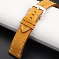 Watch Bands Leather Strap For _watch Man Watchband Galaxy 18mm 20mm 22mm 24mm Band Wrist Bracelets Roes Gold Buckle L
