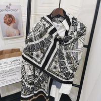 Scarves Women Shawl Classic Warm Blanket Luxury Thick Elegant Female Foulard Winter Cashmere Scarf Lady Design 2021 Pashmina