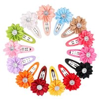 Hot sale Small Sunflower Round Ribbon Hairpin Polygonal Flow...