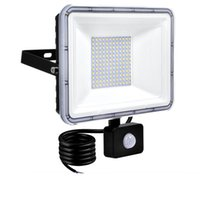20W LED Motion Sensor Sensor Flood Lights Floodlight da esterno, 100W 50W 30W 10W PIR Lampada a induzione PIR, luce intelligente, 6000K, Bianco fresco