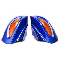 Brand New Rearview Mirrors Amber Turn Signal For R1100RT R15...