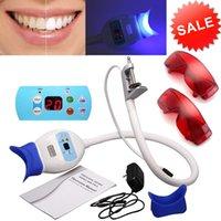 Bonne qualité Nouveau Système d'accélérateur de blanchiment de lampe à LED dentaire Utilisez chaise dentaire dentaires blanchiment machine blanche lumière + 2 lunettes