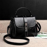 Evening Bags Casual Soft Leather Women Luxury Handbags Designer High Quality Ladies Shoulder Capacity Handbag
