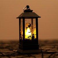 Cadılar bayramı Pumpkins / Hayalet El / Kale LED Işıkları Yapay Alev Işık Küçük Yağ Lambası LED Cosplay Malzemeleri Parti Dekor Cadılar Bayramı