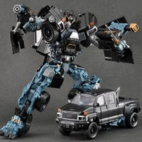 Wei jiang new cool anime trasformazione robot auto super eroe azione figure modello 3c plastica bambini giocattoli regali ragazzi juguetes