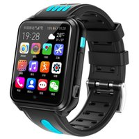 Card SIM 4G Appel Video Smart Montres Téléphone 1G + 8G Mémoire CPU GPS WIFI Pink Enfants Cadeau App installer une caméra Bluetooth Caméra Android Safe Smartwatch