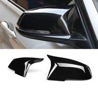 Pour BMW série 4 série F32 F33 F36 420i 420i 435i 2014-up Remplacement de la fibre de carbone de carbone M4 Look Vue arrière Capsules de couverture