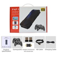 Portable Game Players 2021 4K HD Video Console 2.4G Double Wireless Controller For PS1 FC GBA Retro Handheld TV Dendy 5200Game Stick