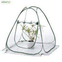 Pieghevole portatile casa giardinaggio serra mini isolamento copertura per fiori e piante | Kraflo Tools.