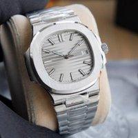 2021 U1 Fabrik Herren Automatische mechanische Uhren Silberband Blaue Golduhr Edelstahl Wasserdichte Armbanduhr Montre de Luxe Watche