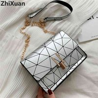 Zhixuan Fashion Ladies Designer Handbags Chains Mini Messenger s for Women Shoulder s Small Lock Flap Bag