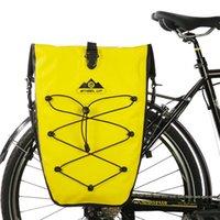 Bicicleta impermeable Bolsa trasera de la bicicleta 25l Viaje Ciclismo Bicicletas Bicicletas de bicicleta Bolsas de asiento de la cola Bolsas de tronco de la cola Pannier Cesta Funda MTB Accesorios para bicicletas