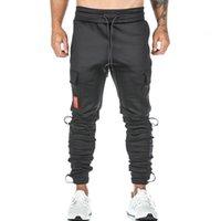 2021 asrv hombres apilados de Harajuku múltiples bolsillos casual gimnasio correr pantalones hombre hip hop jogging táctico pantalones NY29