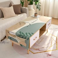 Table Cloth Room Decor Aesthetic Disposable Rectangular Tablecloth Modern Printed Cloths For Events Thick Cotton Linen