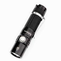 Sofirn SP10S Mini LED Flashlight AA 14500 Pocket Light LH351D 800lm 90 CRI Keychain Tactical Waterproof Torch OPR 210608