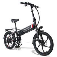 [الأسهم الأمريكية الاتحاد الأوروبي] Sambike 20LVXD30 الذكية للطي الدراجة الكهربائية الدراجة دراجة 350 واط 20 بوصة الإطارات 10AH بطارية