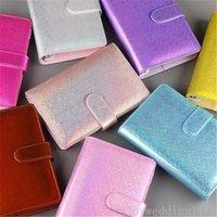 A5 / A6 colorato creativo macarons macarons raccoglitore mano magro notebook shell sciolto foglia notepad diario cancelleria copertina ufficio scolastico