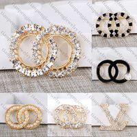 جديد مجوهرات مصمم بروش الشهيرة رسالة الماس دبابيس دبوس شرابة النساء بروش أزياء الملابس الديكور عرض خاص