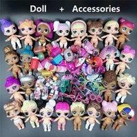 LOLS مفاجأة - دمية أصلية، اكسسوارات، ملابس، بدلة، 8 سم، تمثال الطفل، الأخت، l.o.l.، مفاجأة، ألعاب فتاة، الهدايا