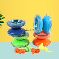 Yoyo Plastic Plastic Yo-Yo colorato puzzle cavo dito gioco per bambini