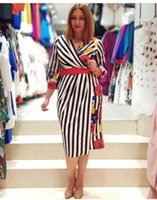 Ethnic Clothing African Dashiki Dress Print Striped Office Abaya Bandage Maxi Bazin Broder Vintage Long Sleeve Robe Gowns Africa Sexy Lady P