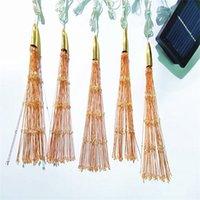 Fireworks Solar String Lights 200 LED Solar Lamp 8 Mode LED Lights Decoration XMAS Light For Party Christmas 813 B3