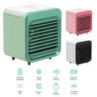 Electric Fans Portable Air Conditioning Mini Conditioner Cooler Humidifier Desktop Cooling Fan Bedroom USB Desk