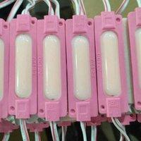 LED Module String COB 2W étanche DC12V pour la publicité extérieure Signes lumineuses Lightbox DIY LED Module Strip