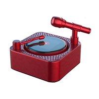 Car Air Freshener Rotatable Solar Phonograph Perfume Clip Fresh Fragran