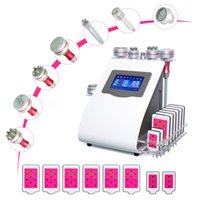 9 in 1 Lipo Laser Fat Removal Vacuum Cavitation Slimming System RF Radio Frequency Facial Lipolaser Ultrasonic Weight Loss Liposuctin Skin Beauty Machine for Spa