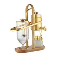 2021 Nieuwe Design Water Drop Royal Balancing Sifon Koffiezetapparaat België Koffiezetapparaat SIPHON VACUMM BREWER