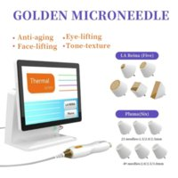 Tixel fractional rf micro needle machine two handles with 4 kinds of tips automatic microneedle age spot laser removal Equipment 2 year warranty