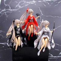 Yosuga no sora janpanse anime giocattolo azione figura kasugano sora car torta decorazione kimono capelli lunghi carino ragazza regalo 3 colori Q0722