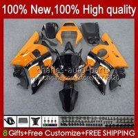 Bodys Kit para Yamaha YZF R6 R 6 98-02 YZFR6 98 99 00 01 02 Bodywork 1No.70 YZF 600 CC YZF-600 YZF-R6 YZF600 600cc 1998 1999 2000 2001 2002 ABS Luz lustroso