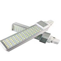 Lâmpadas LED E27 G24 G23 7W 9W 11 W 13W 15W 110V 220V 240V Lâmpada Horizontal Lâmpada SMD2835 Bombillas PL Bulb Lightlights Lighti