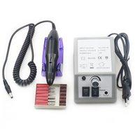 الكهربائية مسمار الفن آلة الحفر 20000RPM باديكير الملفات ملحقات باديكير كيت مع 6 مسمار مثقاب بت و 6 أدوات الأظافر الرملي