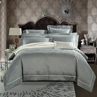 Bedding Sets Luxury Gray Brown Gold Pink 100% Egyptian Cotton Quilting Duvet Cover Bed Sheet Bedspread Pillowcases Set Home Textiles